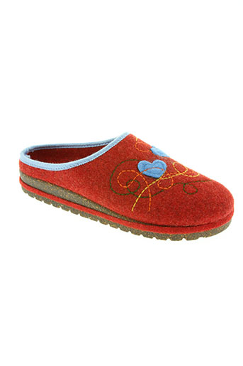 semelflex chaussures femme de couleur rouge