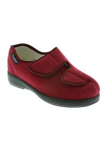 podowell chaussures femme de couleur rouge