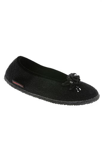 giesswein chaussures femme de couleur noir