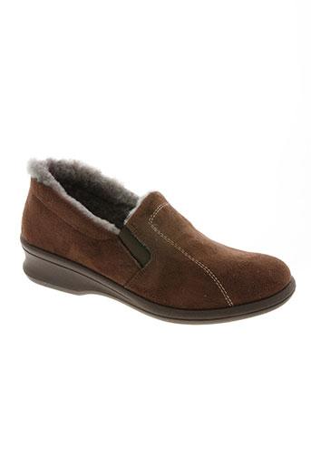 rohde chaussures femme de couleur marron