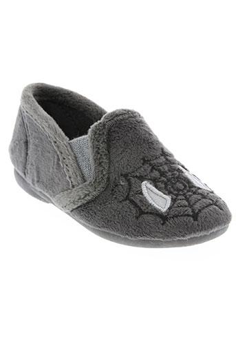 cienta chaussures garçon de couleur gris