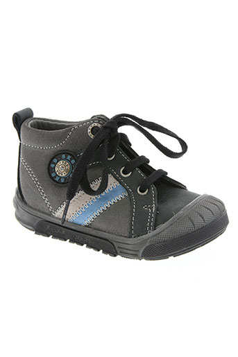 bopy chaussures garçon de couleur gris
