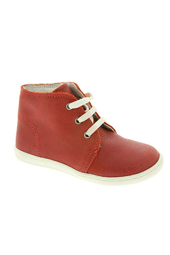 primigi chaussures garçon de couleur rouge