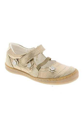 primigi chaussures fille de couleur beige