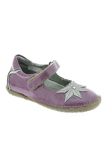 noël chaussures fille de couleur violet
