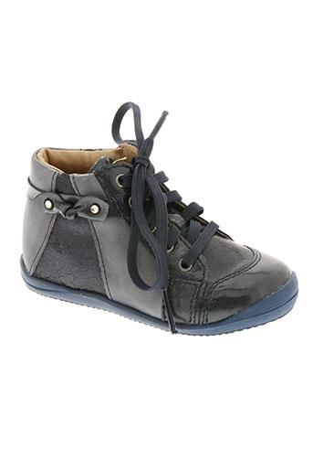 no limits chaussures fille de couleur bleu