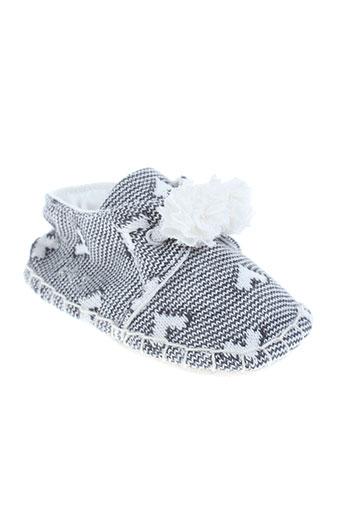 ikks chaussures enfant de couleur gris