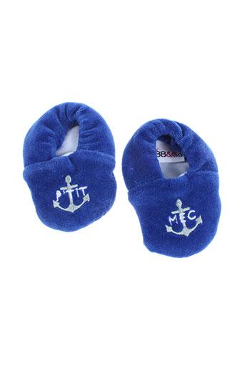 bb and co chaussures garçon de couleur bleu
