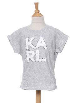 Produit-T-shirts-Fille-KARL LAGERFELD