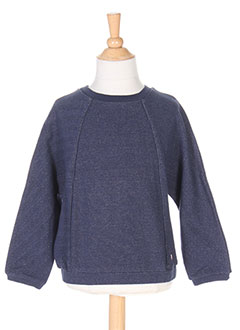 Sweat-shirt bleu CARREMENT BEAU pour fille