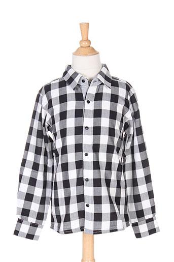 absorba chemises garçon de couleur gris