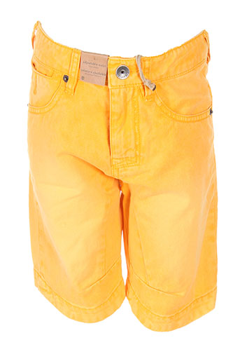 timberland shorts / bermudas garçon de couleur orange