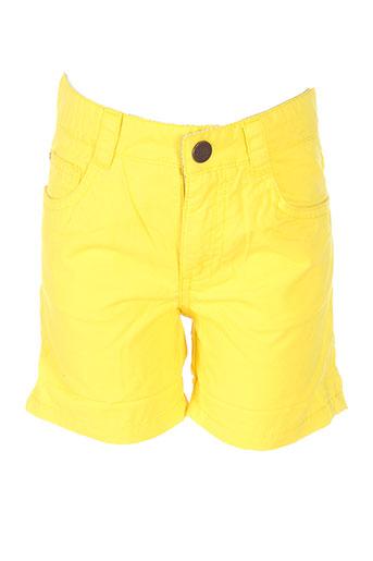carrement beau shorts / bermudas garçon de couleur jaune
