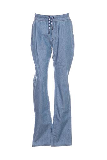 Pantalon casual bleu CARREMENT BEAU pour fille