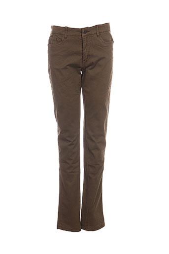 molo jeans fille de couleur vert