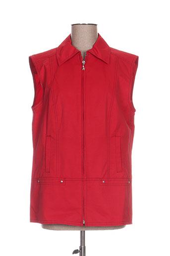 Veste chic / Blazer rouge FE EDITION pour femme