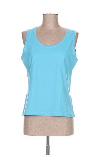 jean delfin chemises femme de couleur bleu