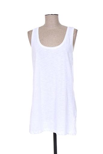 m.x.o t-shirts femme de couleur blanc