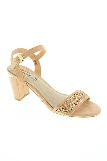 j&j shoes chaussures femme de couleur rose