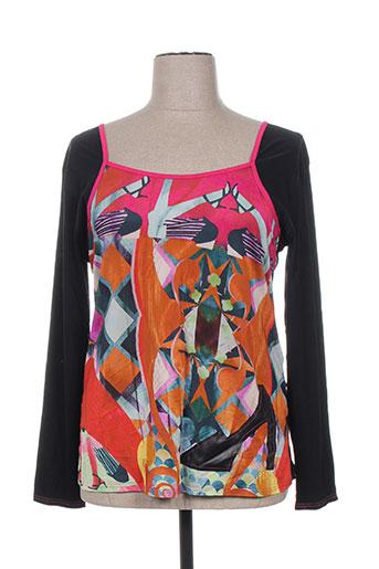 mankoë chemises femme de couleur noir