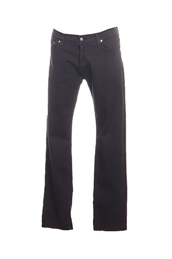 Pantalon casual gris CHEFDEVILLE pour homme
