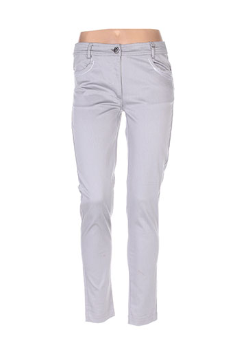 les filles de neaux pantalons femme de couleur gris