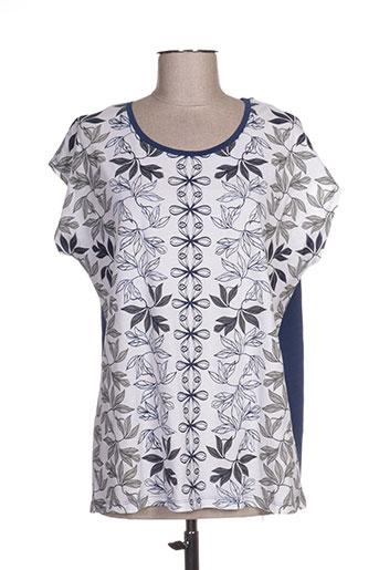 m.x.o t-shirts femme de couleur bleu