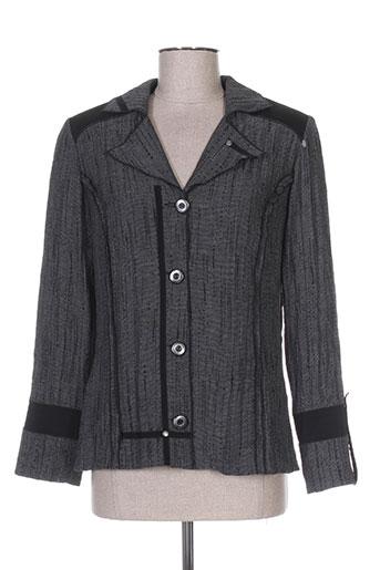 gd vestes femme de couleur gris