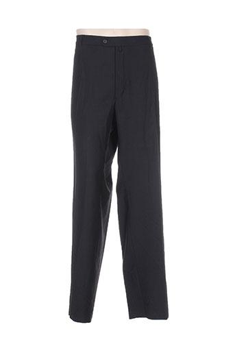 luc saint alban pantalons homme de couleur noir