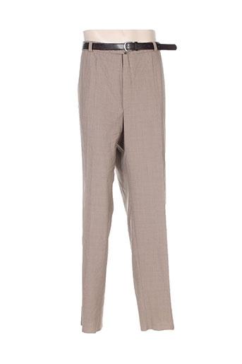 murk pantalons homme de couleur beige