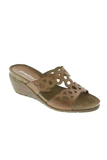 xapatan chaussures femme de couleur marron