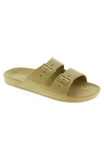 moses chaussures femme de couleur vert