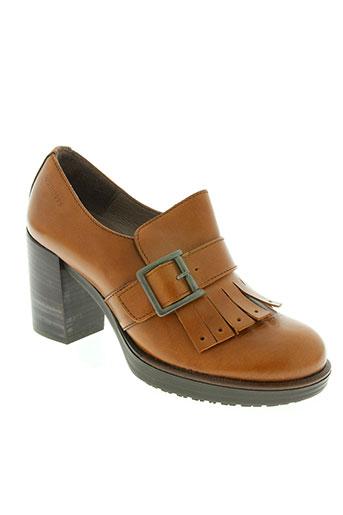 wonders chaussures femme de couleur marron