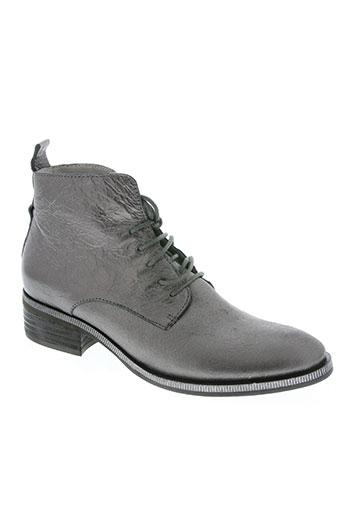 un matin d'ete chaussures femme de couleur gris