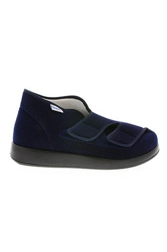 florett chaussures homme de couleur bleu