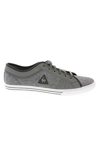 le coq sportif chaussures homme de couleur gris