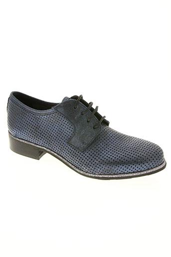 myma chaussures femme de couleur bleu