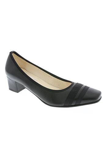 fidji chaussures femme de couleur noir