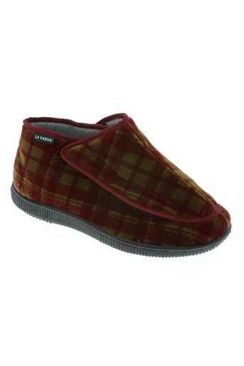 la vague chaussures femme de couleur rouge