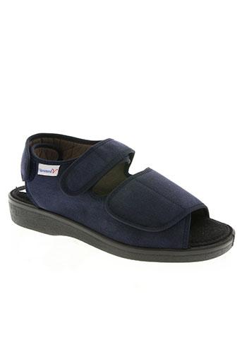varomed chaussures femme de couleur bleu