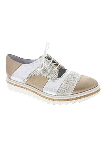 regard chaussures femme de couleur gris