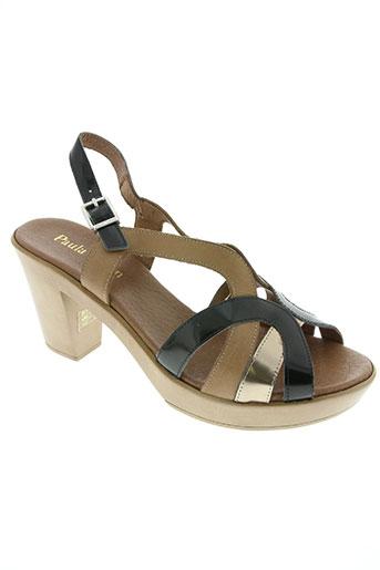 paula urban chaussures femme de couleur noir
