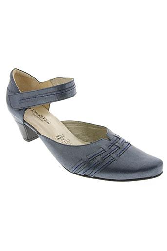 j.metayer chaussures femme de couleur bleu
