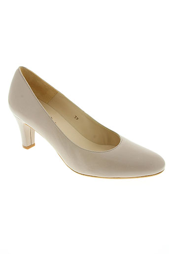 amaru chaussures femme de couleur beige