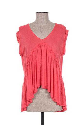 please chemises fille de couleur rouge