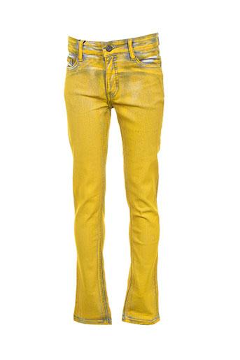 molo jeans garçon de couleur jaune