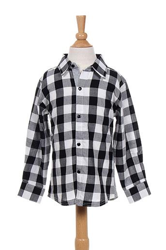 absorba chemises garçon de couleur noir