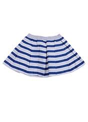 Jupe mi-longue bleu ABSORBA pour fille seconde vue