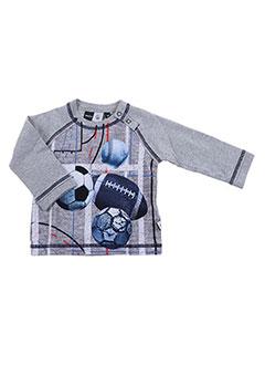 T-shirt manches longues gris MOLO pour garçon