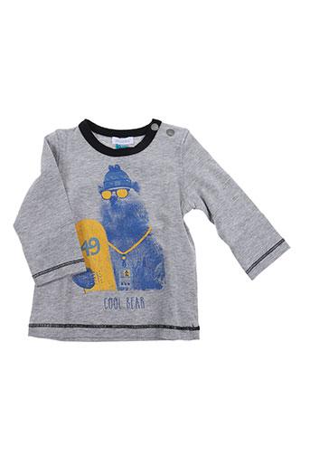 T-shirt manches longues gris ABSORBA pour fille